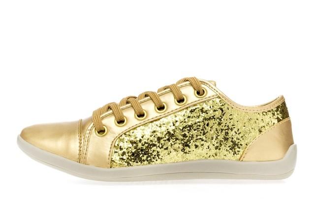 Tenis dourado 1