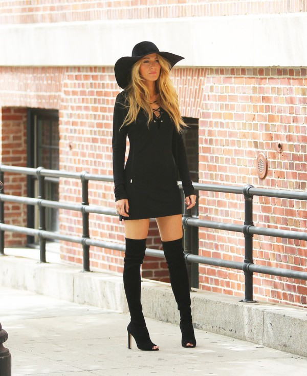 Blake+Lively+Boots+Over+Knee+Boots+aDR4P0su93Tx