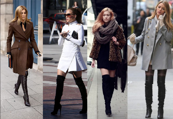 Celebrities-wearing-tall-over-the-knee-boots-in-winter